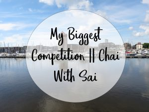 my biggest competition chai with sai school