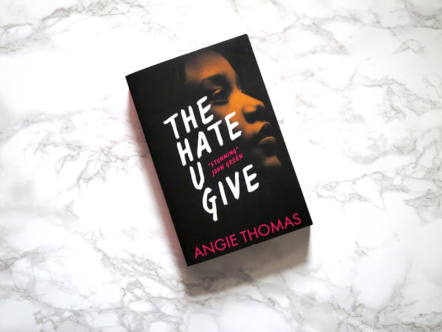 the hate u give thug angie thomas ya young adult book
