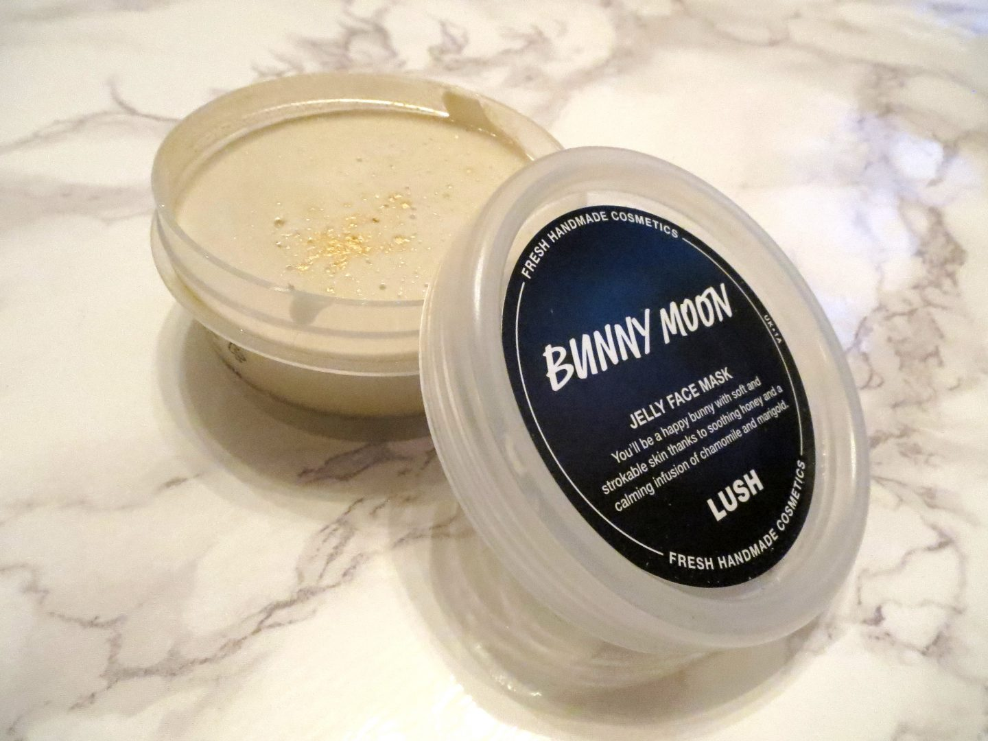 buny moon jelly mask face mask lush haul august 2017
