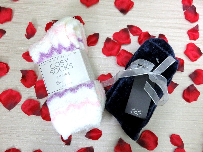 fluffy socks christmas present gift primary tesco what i got for christmas