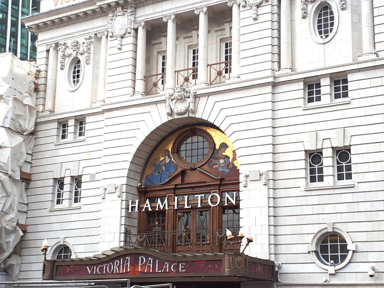 hamilton west end musical theatre